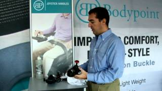 Bodypoint | How to Secure a Joystick Handle to a Power Wheelchair