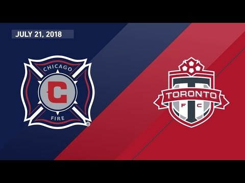 Match Highlights: Toronto FC at Chicago Fire - July 21, 2018
