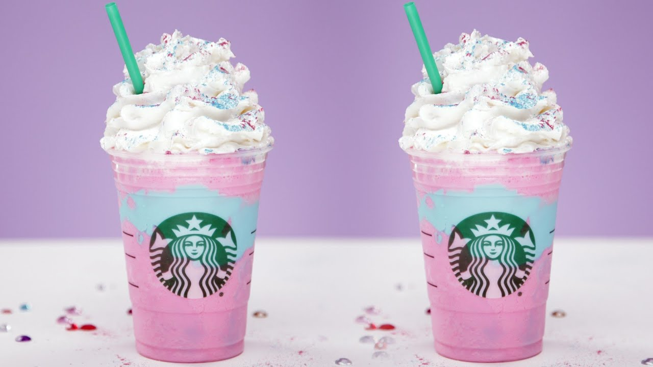 Unicorn Frappuccinos from Starbucks? More food made for your Instagram rather than your palate
