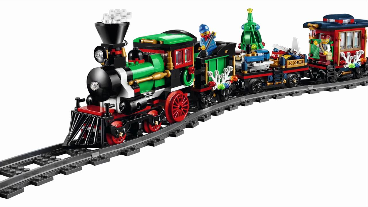 Lego Train De Noel LEGO Winter Holiday Train 10254   YouTube