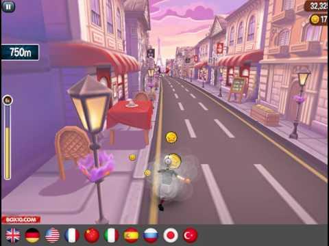 Мультик игра Злая бабушка бежит в Париже (Angry Gran Run Paris)