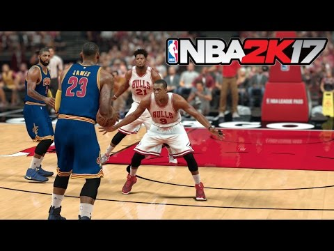 NBA 2K17 (PS4) Cavs vs Bulls Gameplay