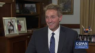 Senator Jeff Flake on Possibly Running for President (C-SPAN)