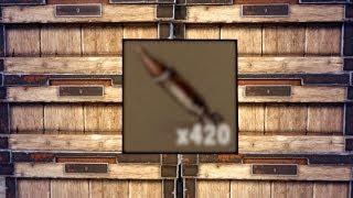 I JUST FOUND 420 ROCKETS inside a BASE... SOLO RAIDING