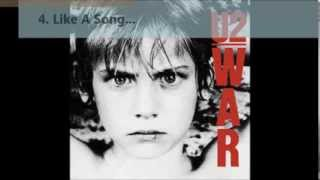 4 Like A Song (War - U2)