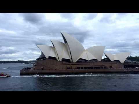 Timelapse of Sydney port from Celebrity Solstice cruise