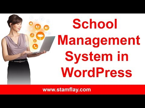 How to create school management system in wordpress