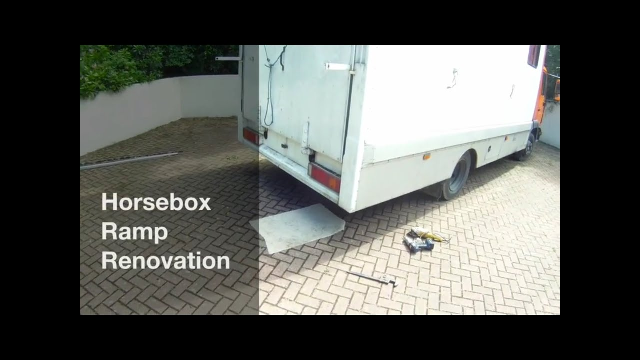 Horsebox Ramp Renovation New Ply Youtube Trailer Socket Wiring Diagram Uk