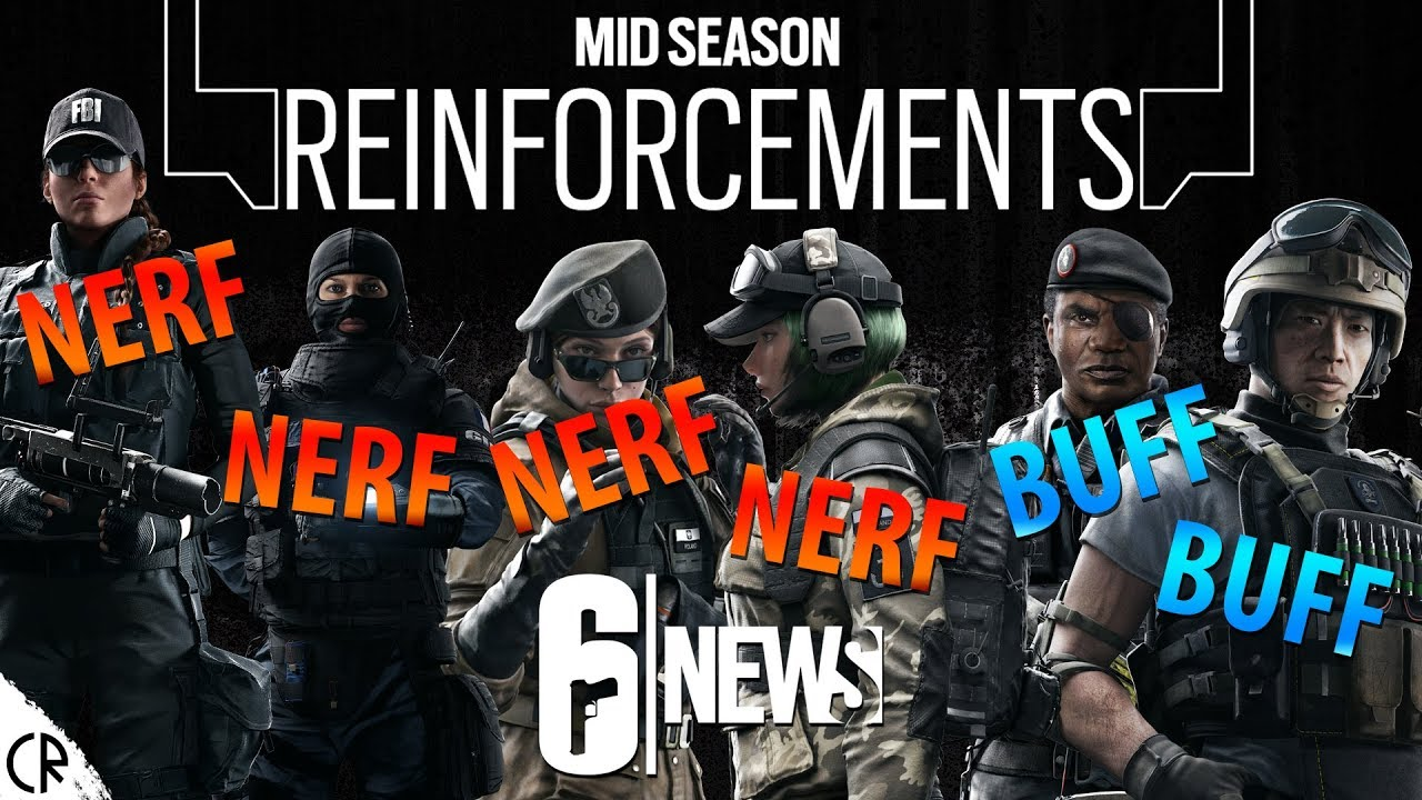 mid season reinforcements rainbow six siege