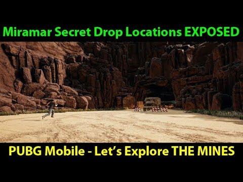 Miramar Hidden / Secret Drop Spots EXPOSED #1 - The Mines