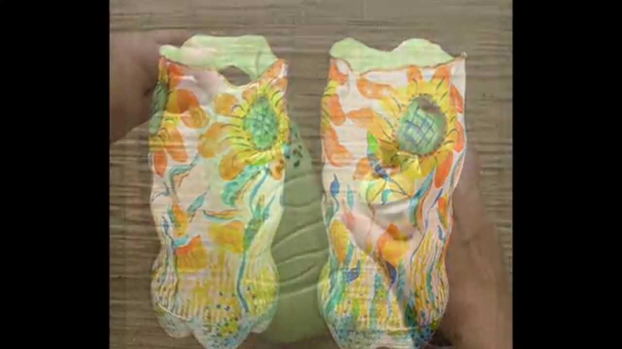 Поделки своими руками горшок для цветов