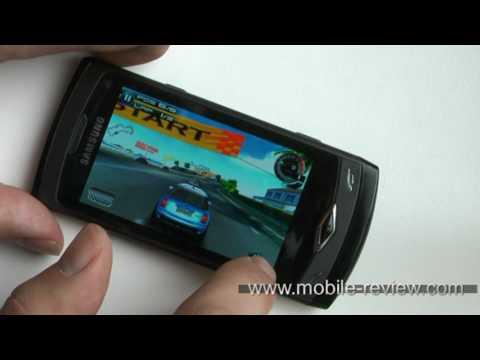 Samsung Wave S8500 Game Expirience - Asphalt5
