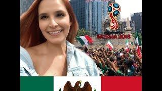 Así vive México el Mundial de Fútbol y primera vez en el metro de CDMX