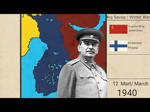 Kış Savaşı Hergün (Fin - Sovyet Savaşı)| Winter War Everyday (Fin - Soviet War)(1939-1940){Harita}