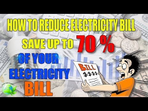 How to Reduce Electricity Bill, Save up to 70% of Your Electricity Bill, Guaranteed!