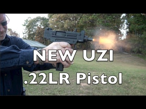 New UZI  22LR Pistol Shooting Review - YouTube