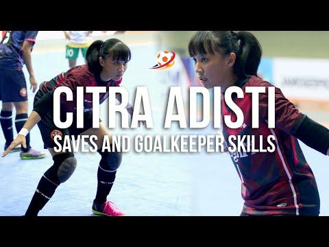 Citra Adisti Saves and Goalkeeper Skills! 🔥