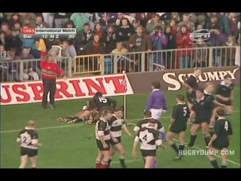 Barbarians vs All Blacks 1993
