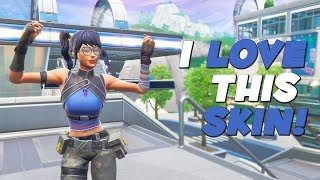 THE NEW CRYSTAL FORTNITE SKIN!