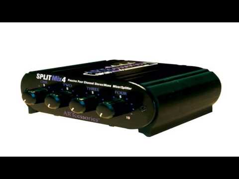 "ART SPLITMix4 Review!  - 4-Channel 1/4"" Stereo Input Passive Splitter / Mixer"