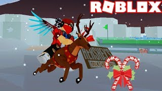 Roblox | Candy Factory Building And Riding Reindeer Ride | Candy Tycoon | Vamy Tran