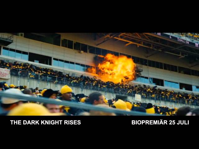 THE DARK KNIGHT RISES - Biopremiär 25 juli - Tv-spot 2