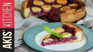Strawberry Jam Tart - Pasta Flora | Akis Kitchen