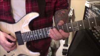 Vader - Revelation Of Black Moses - CVT Guitar SOLO Lesson by Mike Gross