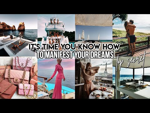 How To *exactly* Manifest Your Dreams Using The Law Of Attraction