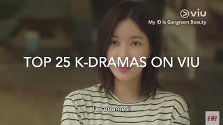 TOP 25 KOREAN DRAMAS ON VIU