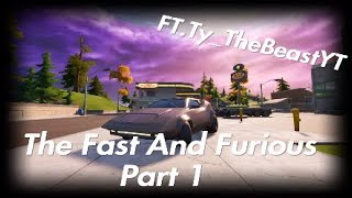 Fortnite Roleplay|Fast And The Furious|Season 1 Episode 1|I STEAL SOMEONES CAR!|New Cars!😁|