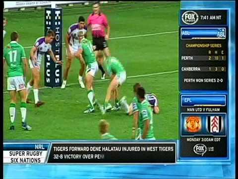 Canberra Raiders Vs Melbourne Storm 2014 Trial