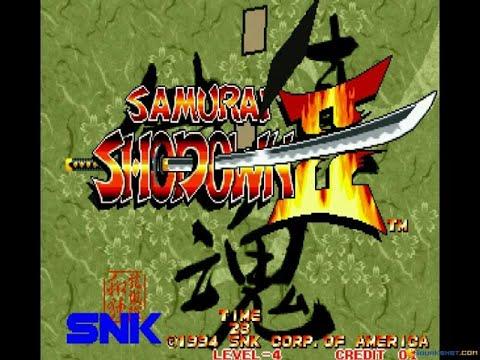 Samurai Shodown 2 gameplay (PC Game, 1994) - YouTube