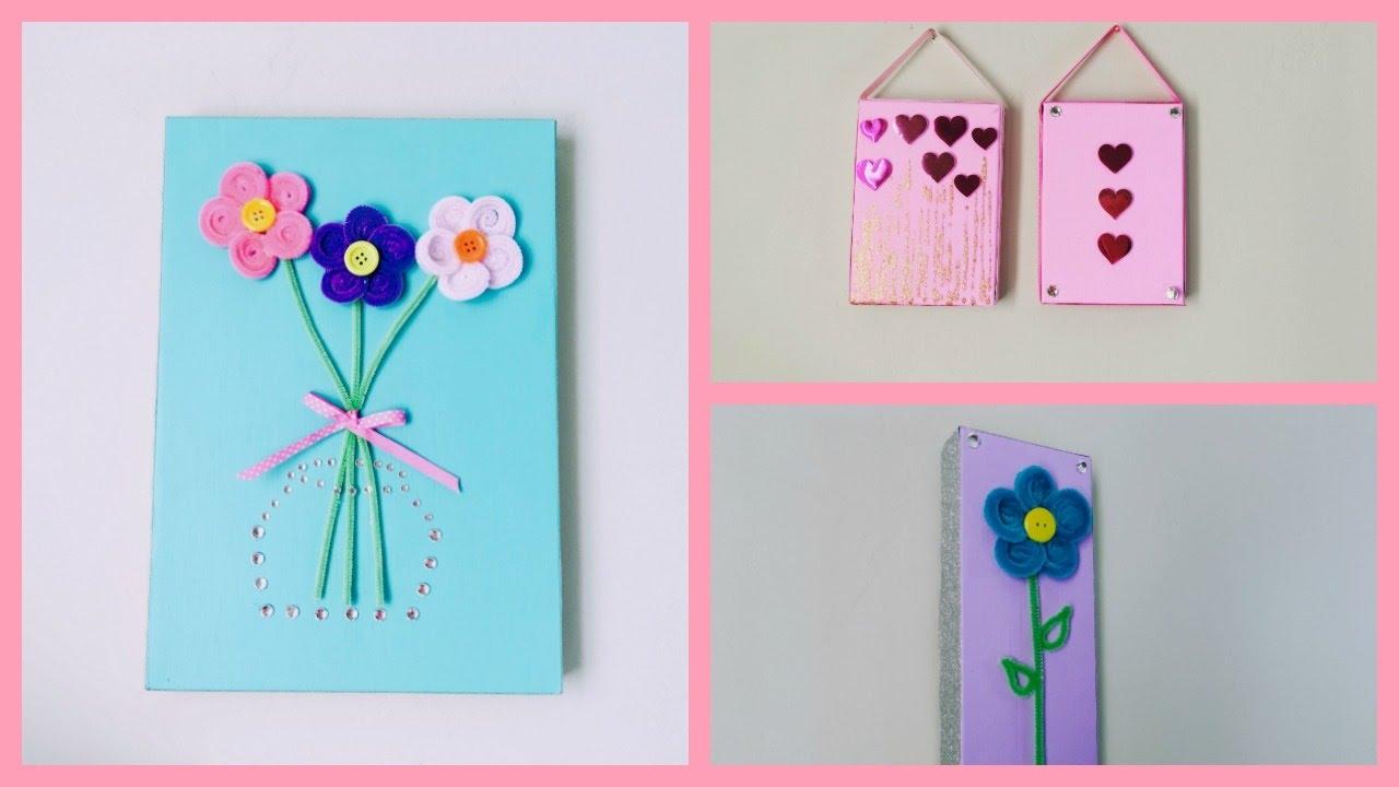 Manualidades para el dia de la madre o para decorar tu - Cosas para decorar la habitacion ...
