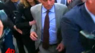 Raw Video: Douglas Exits Court, Son Prison-Bound
