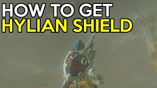 How To Easily Get The Hylian Shield - Legend Of Zelda Breath Of The Wild