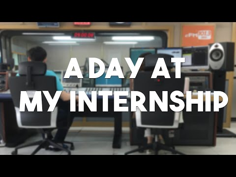 Follow Me | A Day at my Internship in Korea
