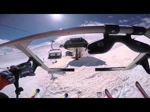 Etna nord - Linguaglossa - Piste da sci - Sicilia - GoPro [HD]