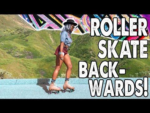 ROLLER SKATE BACKWARDS WITH @GYPSETCITY! - Ep. 9 Planet Roller Skate