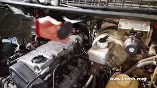 Как определить не работающую насос форсунку на Газель 2.1d Steyr 560