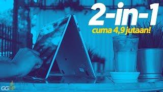 Laptop 2-in-1 Tipis TERMURAH dengan SSD M.2 128GB – Review Zyrex SKY 360