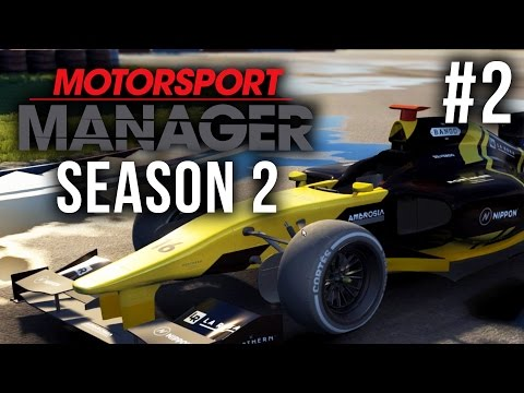 Motorsport Manager Season 2 Gameplay Walkthrough Part 2 - GOT TO BE KIDDING ME (ASIA SUPER CUP)