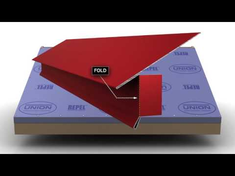 How to Install Standing Seam Metal Roofing - Eave Trim.