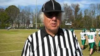 Youth Football Referee linesman.MOV