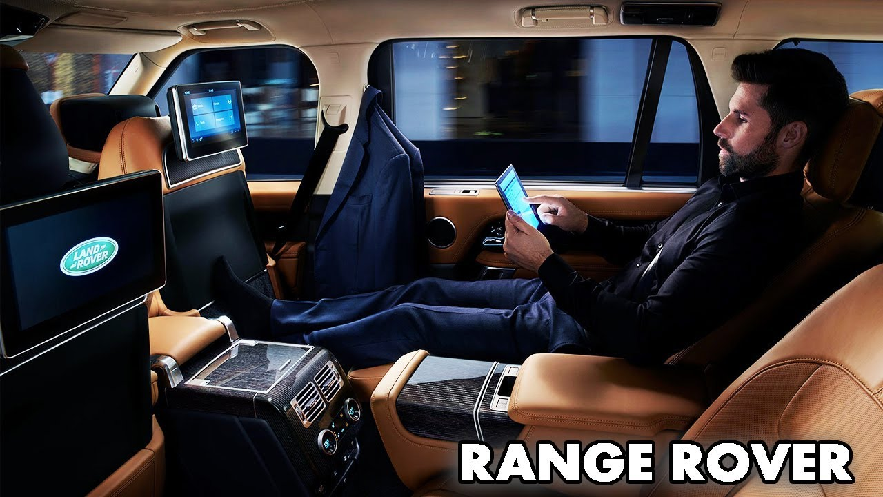 2018 Range Rover INTERIOR / Tech & Features / Pinnacle of Luxury