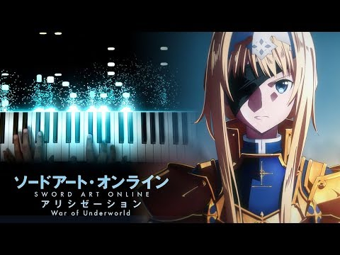 "[Sword Art Online: Alicization - War Of Underworld OP] ""Resolution"" - Haruka Tomatsu (Piano)"