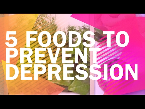 5 Healthy and easy Foods to Prevent Depression / How to cure mood swings with simple home remedies