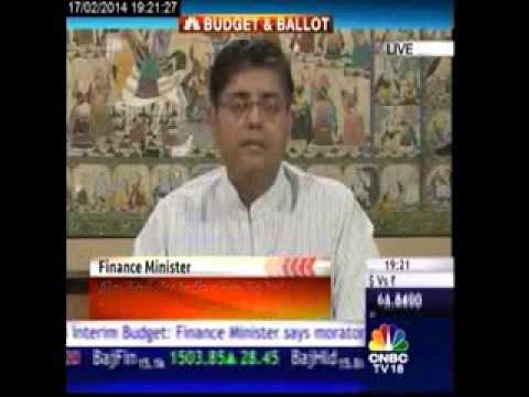 Budget discussion CNBC TV18