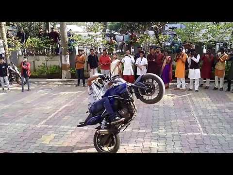 Bike stunt   LTCE   Navi mumbai