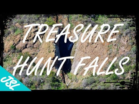 HIDDEN Waterfall in Malibu (How to find Treasure Hunt Falls)
